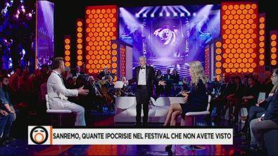 Sanremo, quante ipocrisie nel festival che non avete visto