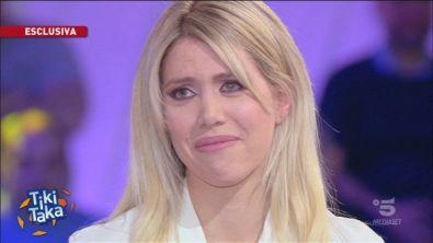 """Wanda in lacrime: """"Mauro sta soffrendo"""""""