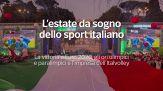 L'estate da sogno dello sport italiano: gli ultimi successi di Ganna e l'Italvolley