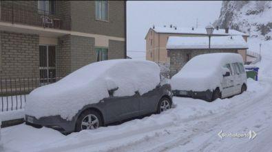Neve e vento glaciale
