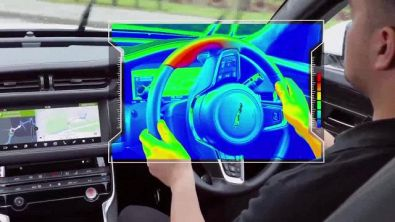 Jaguar Land Rover lancia il Sensory Steering Wheel