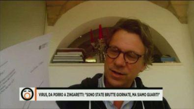 """Virus, da Porro a Zingaretti: """"Sono state brutte giornate, ma siamo guariti"""""""