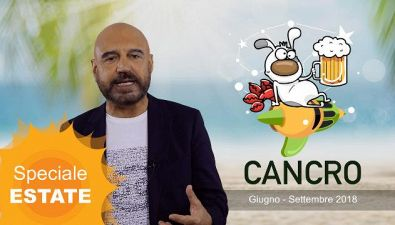 CANCRO: l'oroscopo dell'estate di Antonio Capitani
