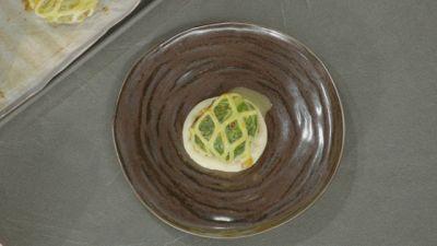 Filetto di vitello in griglia di pasta sfoglia