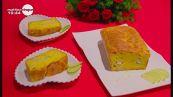 Torta salata al basilico con gamberi e lime