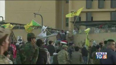 Assalto all'ambasciata soldati Usa in Iraq