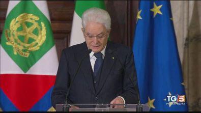 """Mattarella: """"Politica non sia solo scontro"""""""