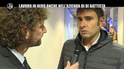 """ROMA: Di Battista a Le Iene: """"Prometto di regolarizzare il lavoratore in nero"""""""