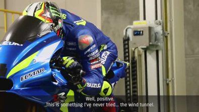 Suzuki in galleria del vento