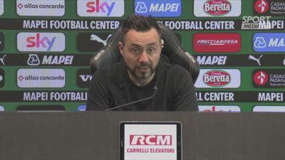 "De Zerbi: ""Juve, noi vogliamo il settimo posto"""