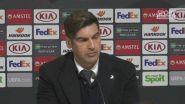 """Fonseca: """"Bene la squadra, ripartenze a volte lanciate male' """""""