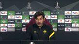 """Roma-Ajax, Fonseca: """"E' la partita piu' importante della stagione"""""""
