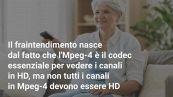DVB-T2: perché i canali RAI e Mediaset non sono diventati HD?