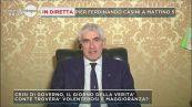 Pier Ferdinando Casini a Mattino 5