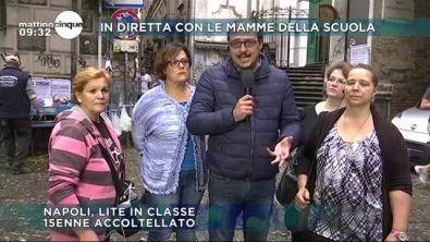 Napoli: a scuola con il coltello