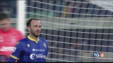 Verona show, Juve ko E stasera Inter-Milan