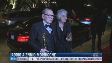 Breaking News delle 14.00 | Addio a Ennio Morricone