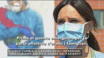 Il virus cambia il lavoro degli infermieri