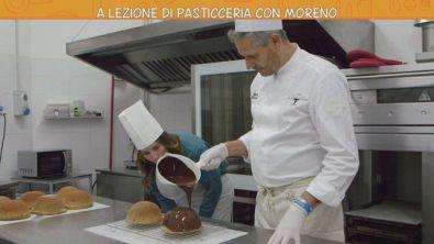 A lezione di pasticceria con Moreno