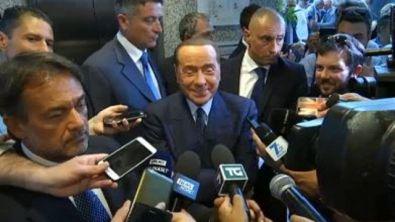 """Berlusconi: """"Giampaolo-Milan forse merito mio"""""""