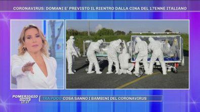 Coronavirus: il 17enne italiano in viaggio dalla Cina