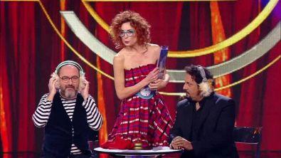 Marta e Gianluca con Enrico Brignano