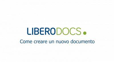 Libero Docs - Come creare un nuovo documento