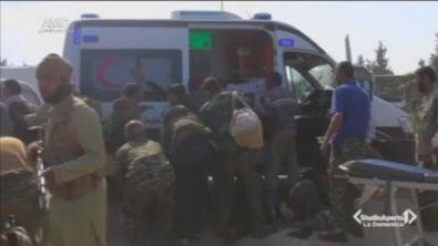 Strage di civili Aleppo