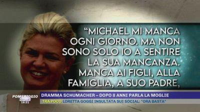 Dramma Schumacher - Dopo 8 anni parla la moglie