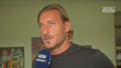 """Roma, Totti: """"Inimmaginabile per me vivere un derby da fuori"""""""