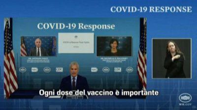 Casa Bianca: 90 milioni di non vaccinati facciano la loro parte