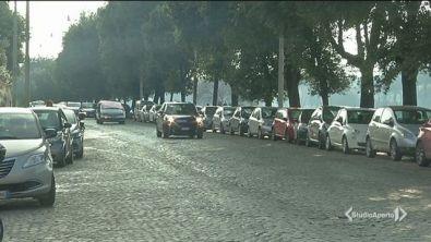 Roma chiusa per smog