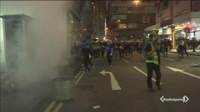 Hong Kong, protesta senza fine