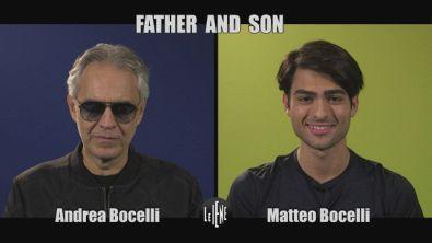 INTERVISTA: Father and Son, l'intervista doppia ad Andrea e Matteo Bocelli