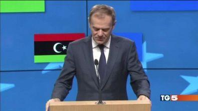 UE: va chiusa la rotta tra Libia e Italia