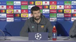 """Barcellona, Piqué: """"Preferisco Messi a Maradona"""""""