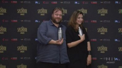 Splendor Award per Stefano Fresi e Cristiana Polegri