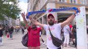 Europei, tifosi italiani e belgi per le strade di Monaco prima della partita