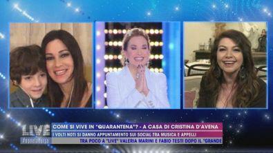 Cristina D'Avena canta per noi