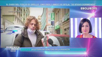 Domenica Live incontra Ciro Grillo