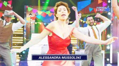 Alessandra Mussolini è Sophia Loren