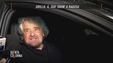 Grillo, il suo show in Sicilia