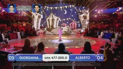 Alberto vs Giordana - La finalissima - XII esibizione