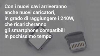 I nuovi cavi USB per la ricarica ultra veloce