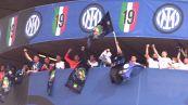 Calcio: gol e tifosi, Inter è gran festa scudetto