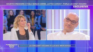 """Lo chef Simone Salvini: """"Noi siamo ciò che mangiamo"""""""