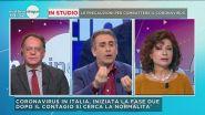 Coronavirus: Cecchi Paone e Carmelo Abbate vs Alda D'Eusanio