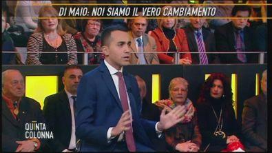 Luigi Di Maio: noi siamo il vero cambiamento