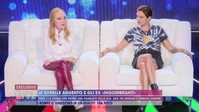 """Le sorelle Argento e gli ex """"ingombranti"""""""