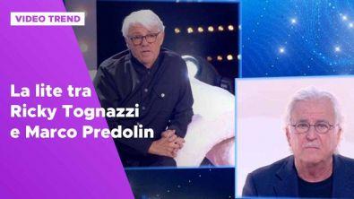 La lite tra Ricky Tognazzi e Marco Predolin